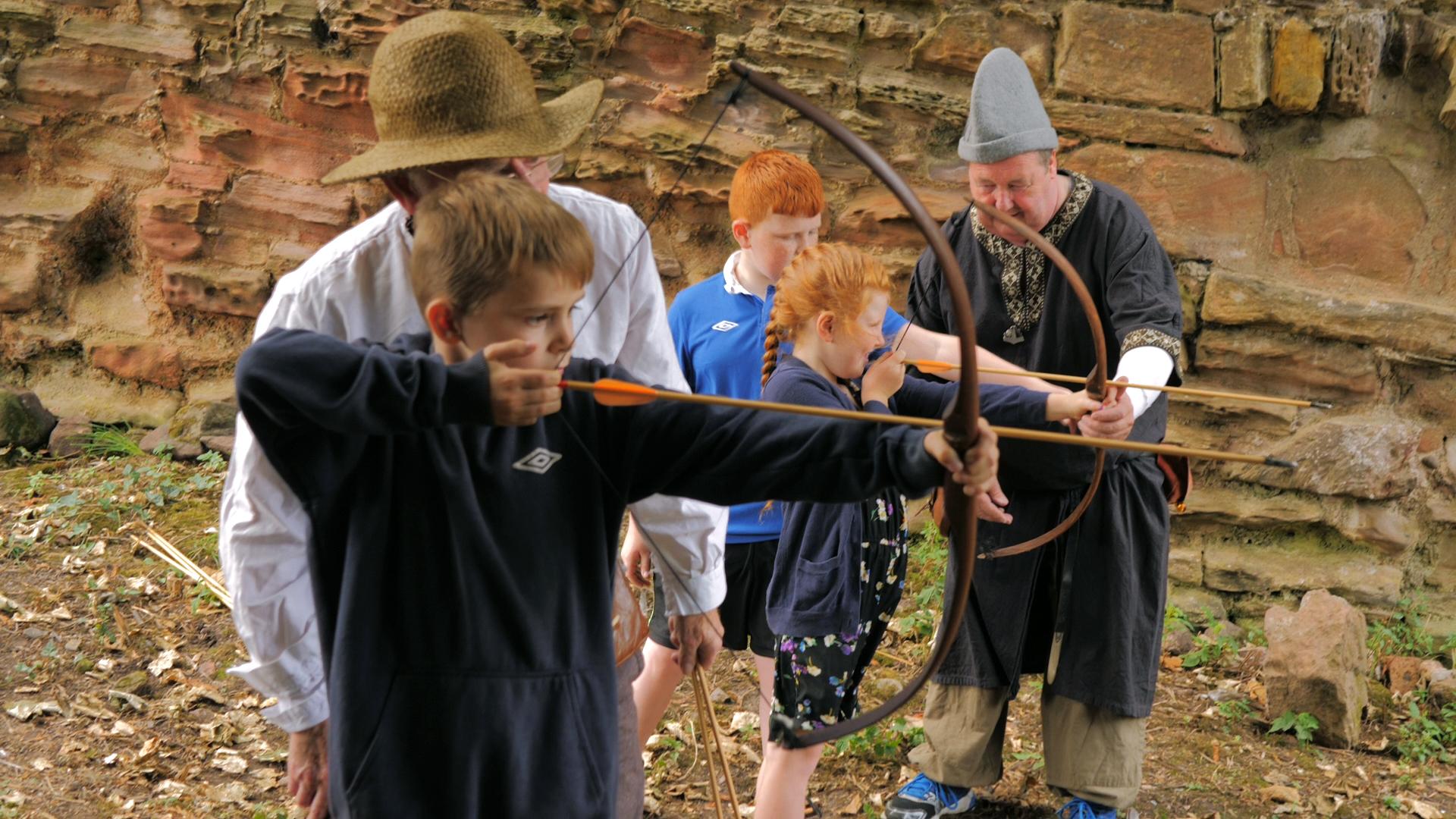 Archery at Macduff Castle