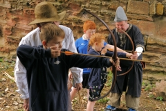 Archery at Macduff Castle