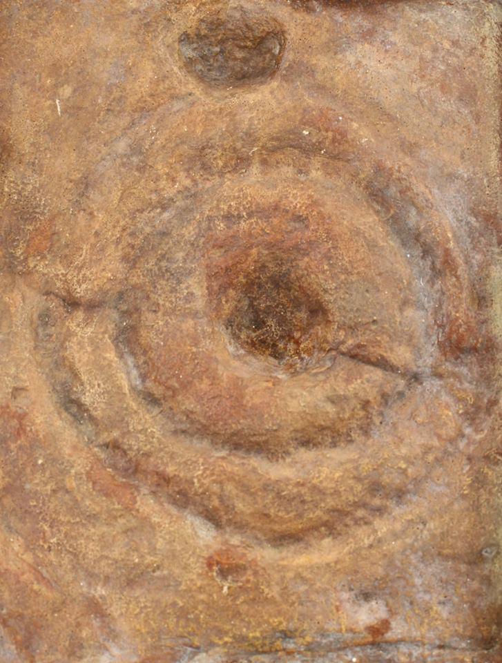 Cast of Bronze-age cup and ring mark